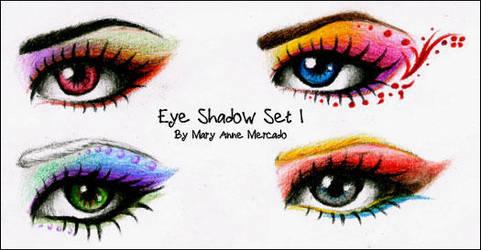 Eyeshadow Set 1 by ShadowMehMeh