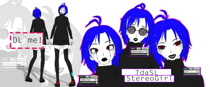 TdaSL StereoGirl - DL by ALRGN