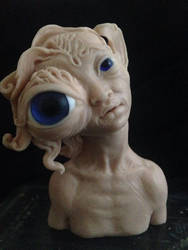 Maiden's eye monster WIP by Sleetwealth
