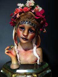 Market girl by Sleetwealth