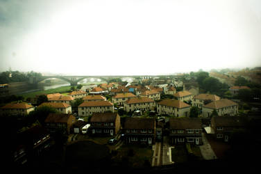 Scottish town by FabianFynn