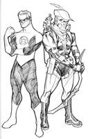 JLA 2009 - GL, GA, and Atom by guinnessyde