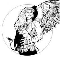 DC Hotties: Hawkgirl by guinnessyde