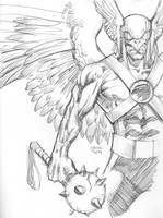 04252014 Hawkman by guinnessyde