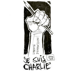 Je Suis Charlie by guinnessyde