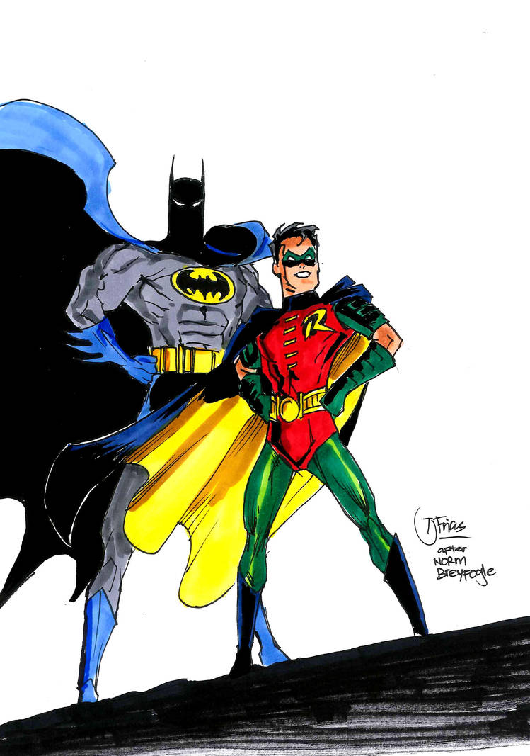 For Norm Breyfogle by guinnessyde