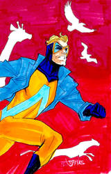 09192018c AnimalMan by guinnessyde