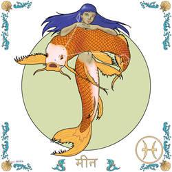 Zodiac - (12) Pisces by empyrean