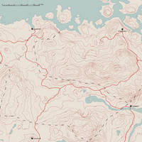 Skyrim Topography (partial) by empyrean