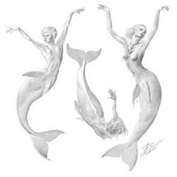 Three Mermaids by empyrean