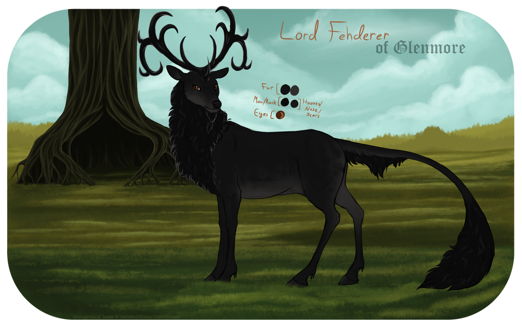 Lord Fehderer   Stag   Royal by Wildfire-Tama
