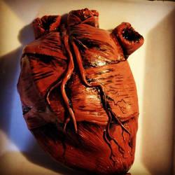 Human Heart Cake by GrantCunningham