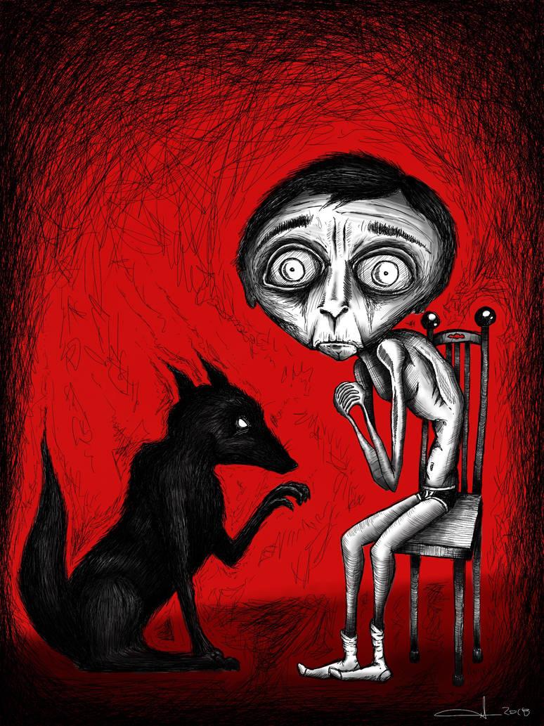 Black Dog by GrantCunningham