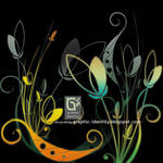 Floral Photoshop Brushes by GraphicIdentity