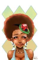 Ladybird no.1 -the headdress- by korone