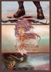 The Path: Random comic page by korone