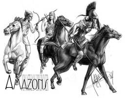 Amazons - Historic Concept by tacticangel