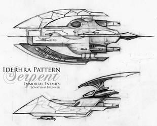 Iderhra Pattern Serpent by tacticangel
