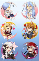 Fire Emblem Fates Charms by Hakoot