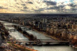 La Seine by danielcardoso