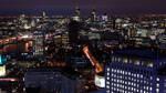 London from the sky #01 by danielcardoso