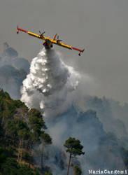 Incendio 2 Giugno 2009. by RossoAlicante