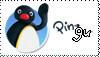 Pingu stamp by samuelskanvis