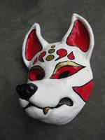 Resin Kitsune mask 1 by apocastasis
