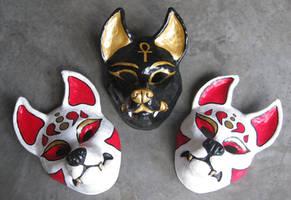 Resin masks by apocastasis