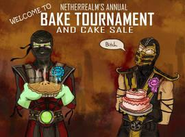 Netherrealm's annual Bake Tournam by apocastasis