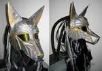 Cyber Anubis helm by apocastasis