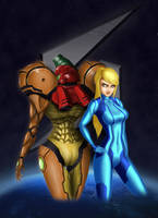 Intergalactic Bounty Hunter by WallMaster1187