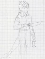 Random Doodle 5 by ElazulAoneko