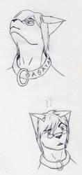 More Sasayaki Doodles by ElazulAoneko