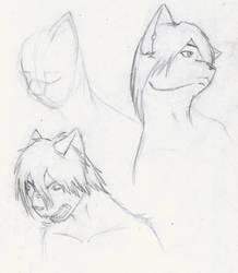 More doodles by ElazulAoneko
