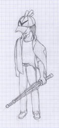 .:WIP:. Yet another sketch by ElazulAoneko