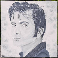 David Tennant by cattybonbon