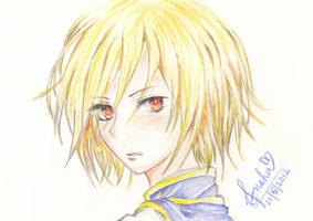 Kurapika - Hunter x Hunter by EverHopelesslyInsane