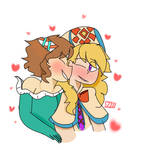 Smooches by whimsicalknight8