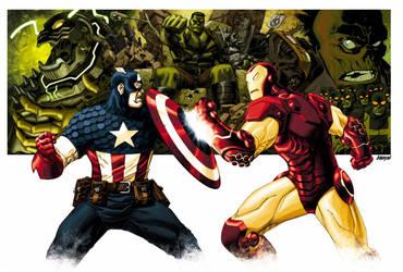 Marvel Box art Final by Devilpig