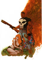Punisher cover no.71 Step 6 by Devilpig