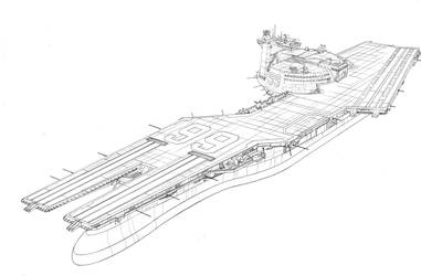 GI Joe Resolute USS Flagg by Devilpig