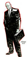 Agent graves con sketch by Devilpig