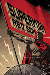 Superman RedSon Hardback cover by Devilpig