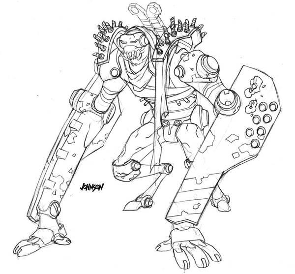 Robot dump part two by Devilpig