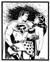 Superman RedSon sketch by Devilpig