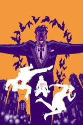 Batman Broken City 625 Cover by Devilpig