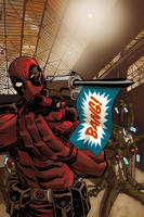 Deadpool Cover no. 26 by Devilpig