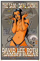 Sam and Dave Rock poster by Devilpig