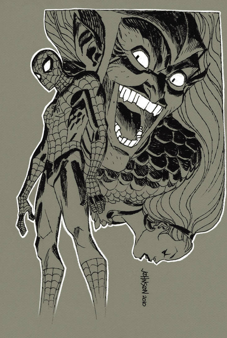 Spider-man con commission by Devilpig